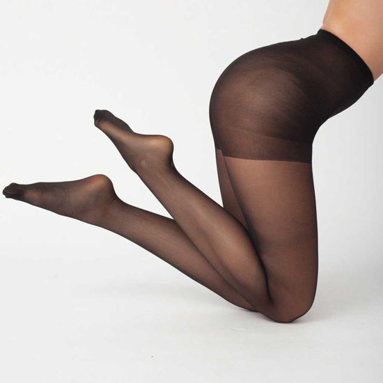 Picture of Nylon Pantyhose Black 5-Pack