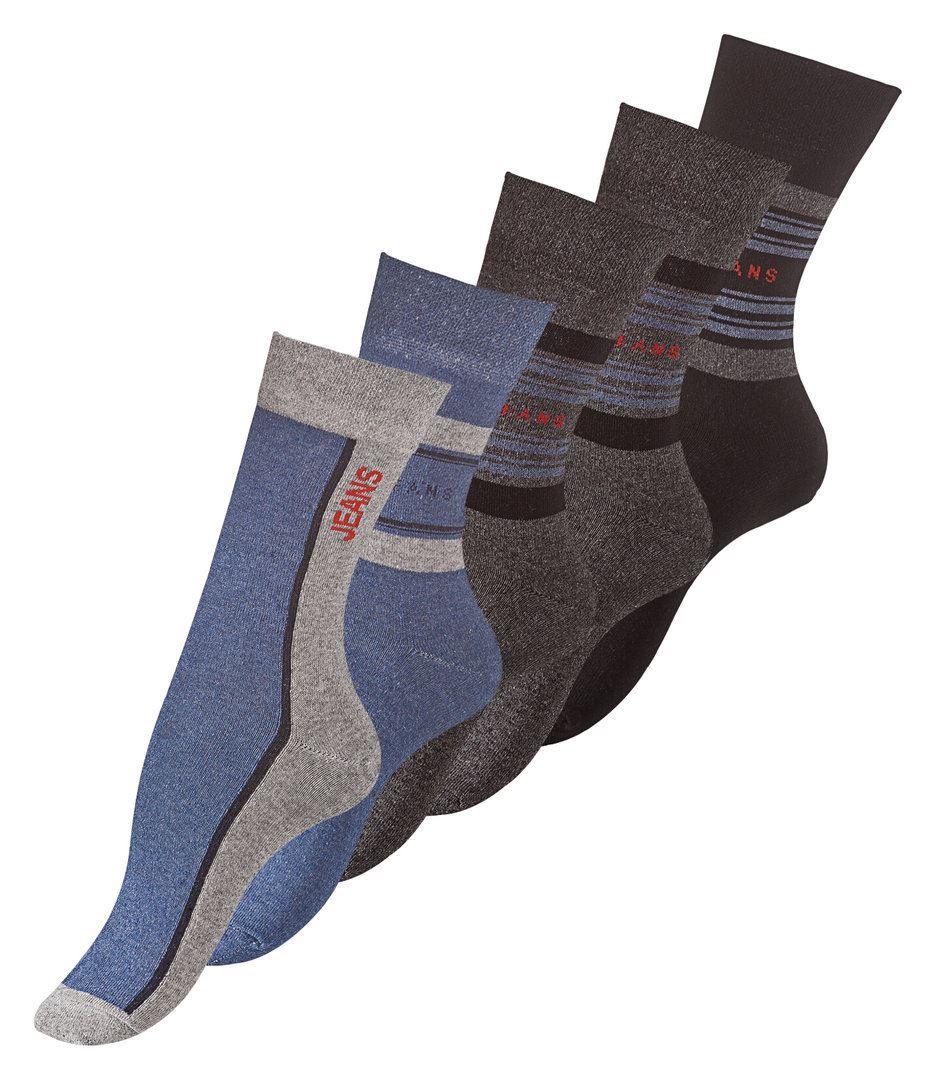 Bild av Bomullssockor Jeans Style 5-Pack