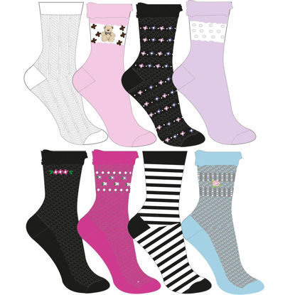 Picture of Patterned sock