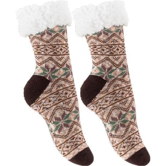 Bild av Mysiga och varma strumpor med halkskydd