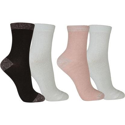 Picture of Glitter Socks 4-Pack