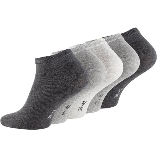 Picture of 5-Pack Ankle Socks Gray Mix