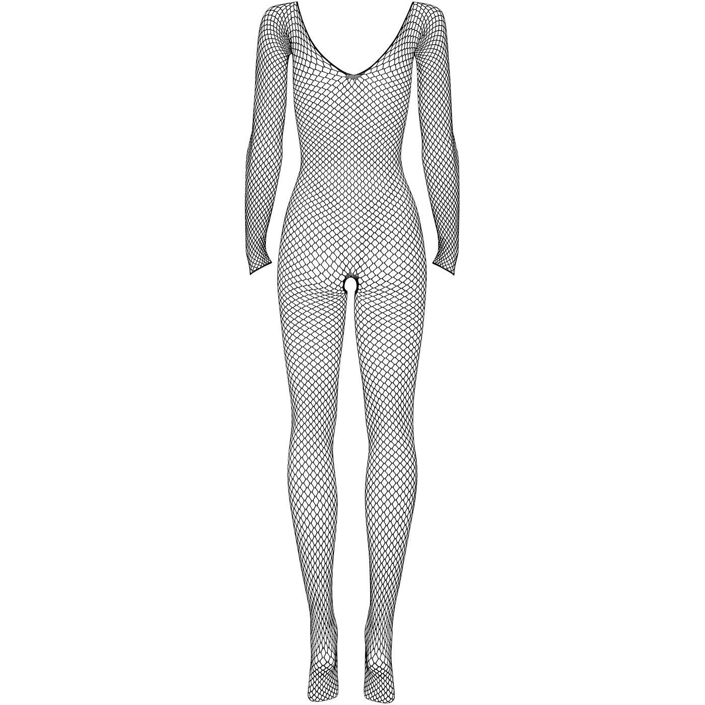 Bild av Kroppsstrumpa svart med öppen gren